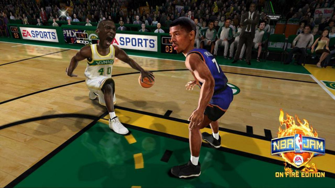 recensione NBA Jam: On Fire Edition