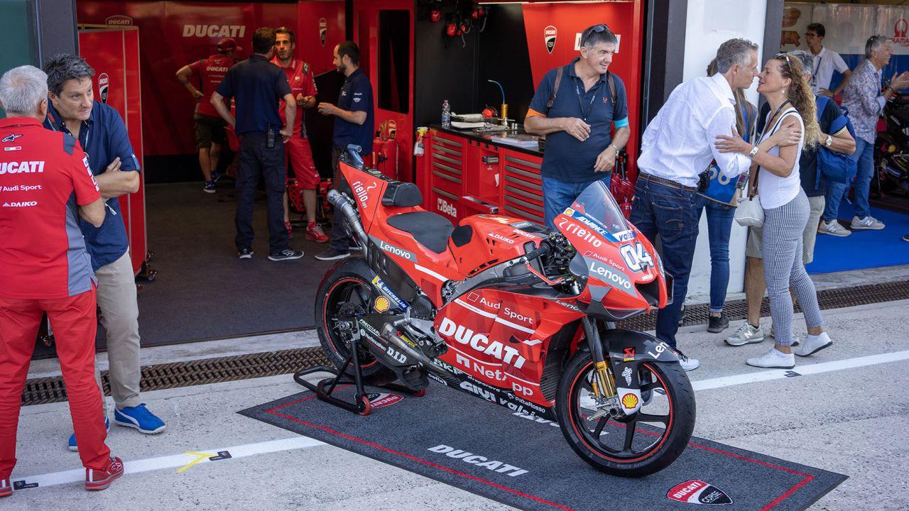 speciale Nei garage Ducati prima del GP di San Marino: MotoGP ed elettronica