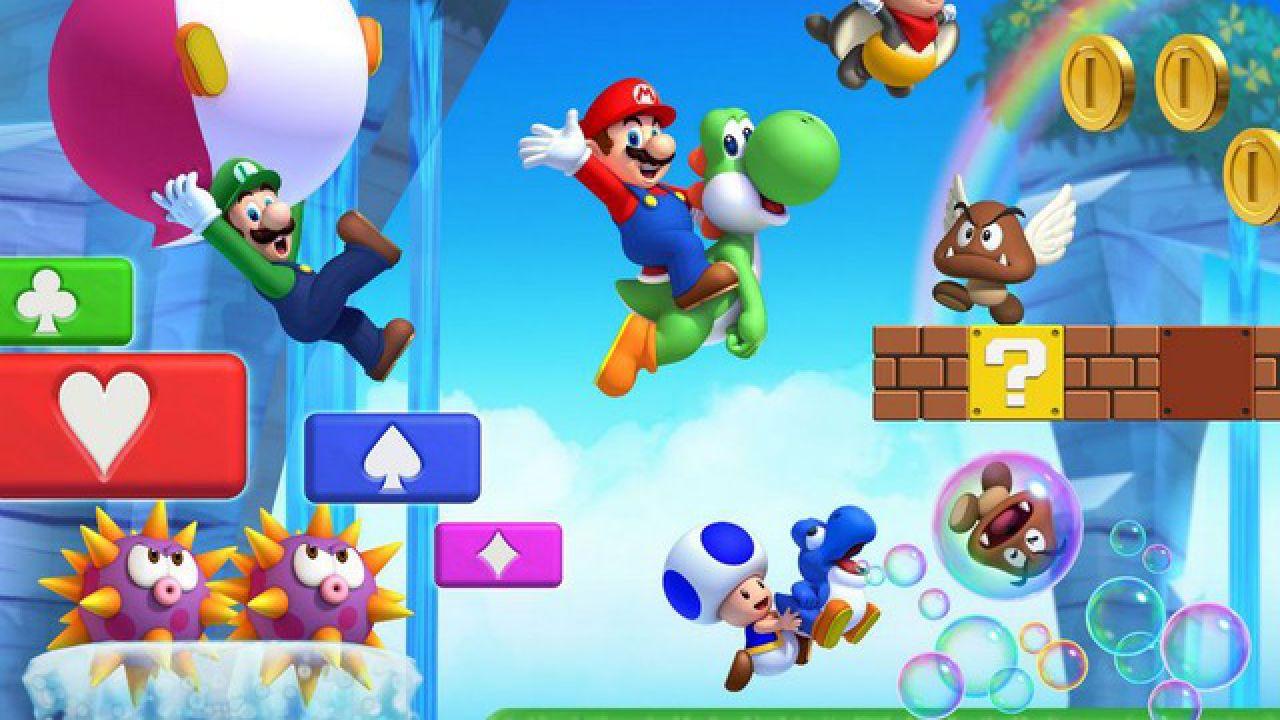 hands on New Super Mario Bros. U