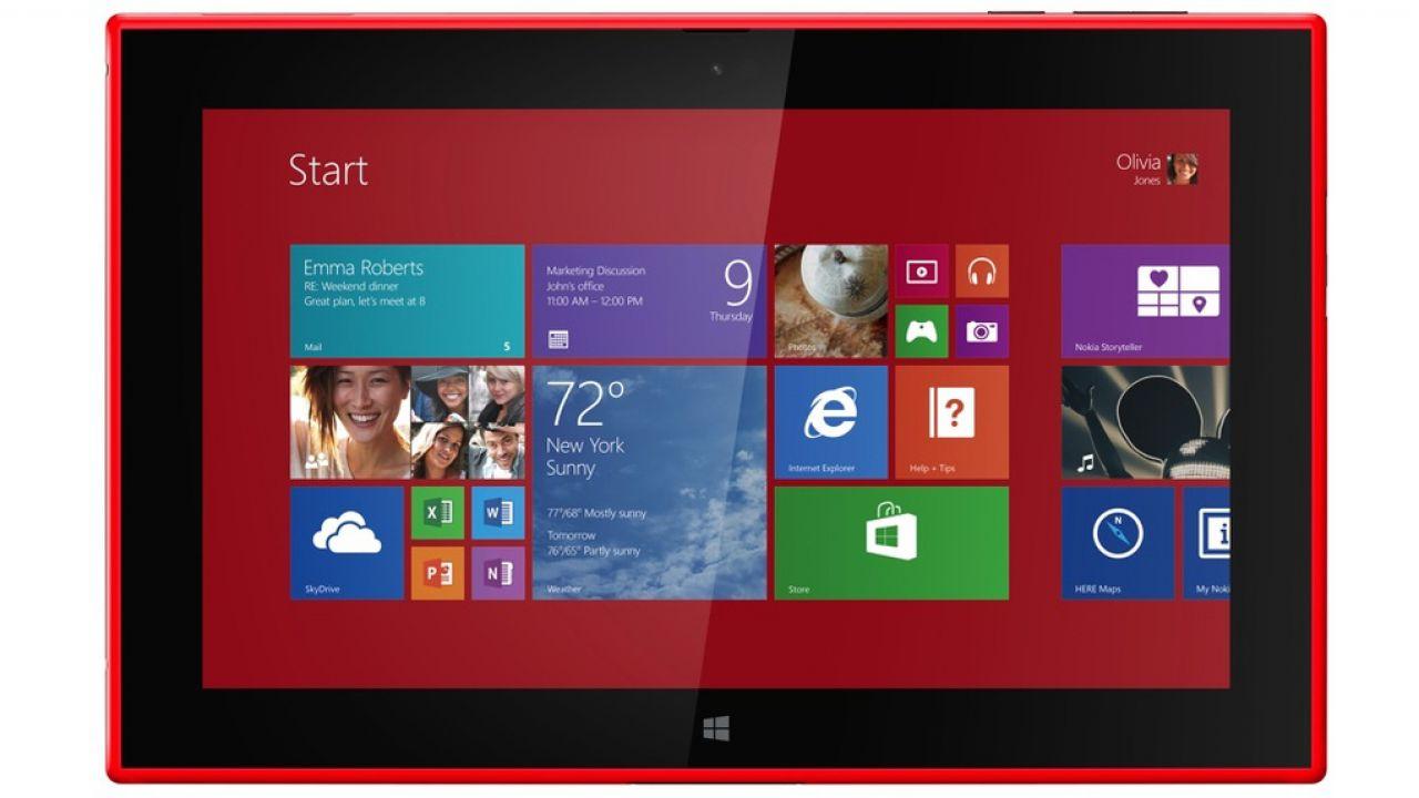 anteprima Nokia Lumia 2520