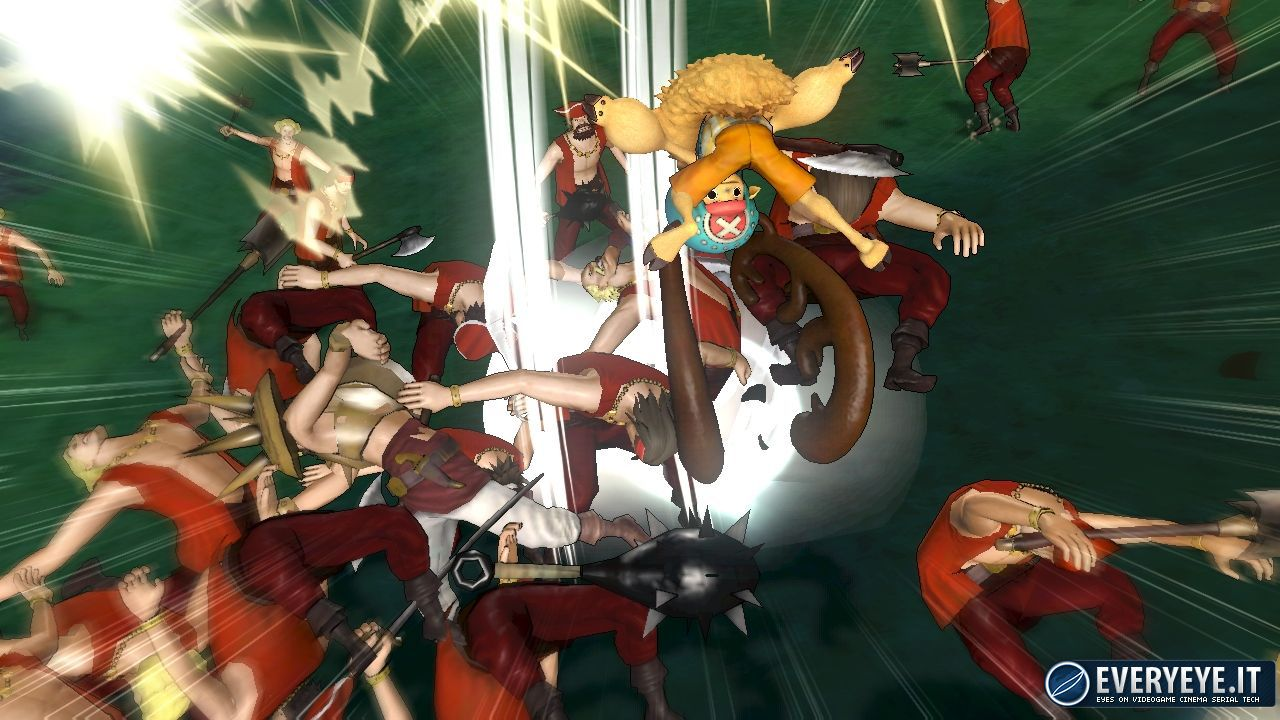 hands on One Piece Pirate Warriors 2