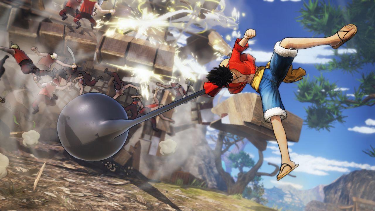 provato One Piece Pirate Warriors 4: provata la demo a Lucca Comics 2019