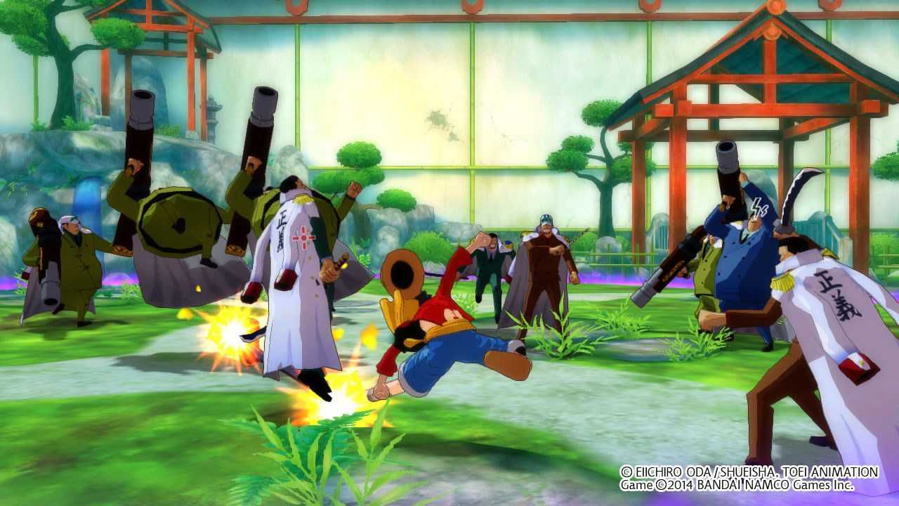 hands on One Piece: Unlimited World R