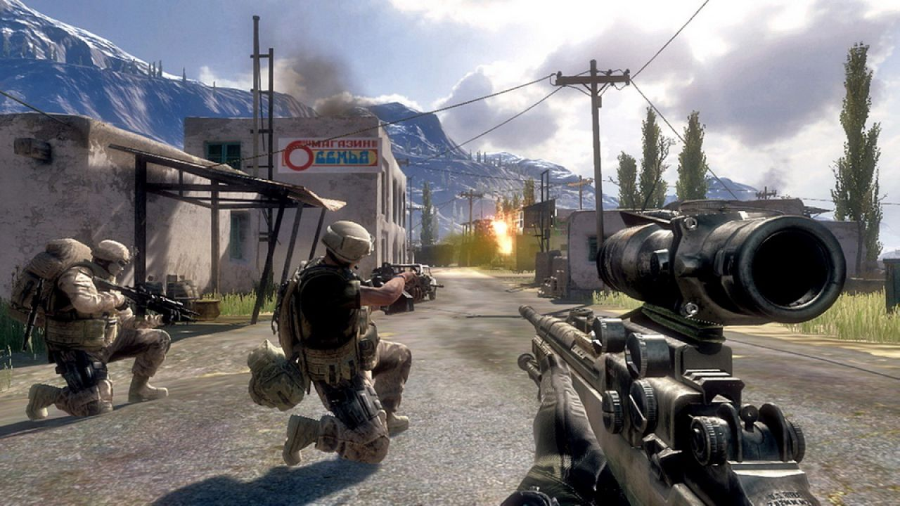 hands on Operation Flashpoint: Red River