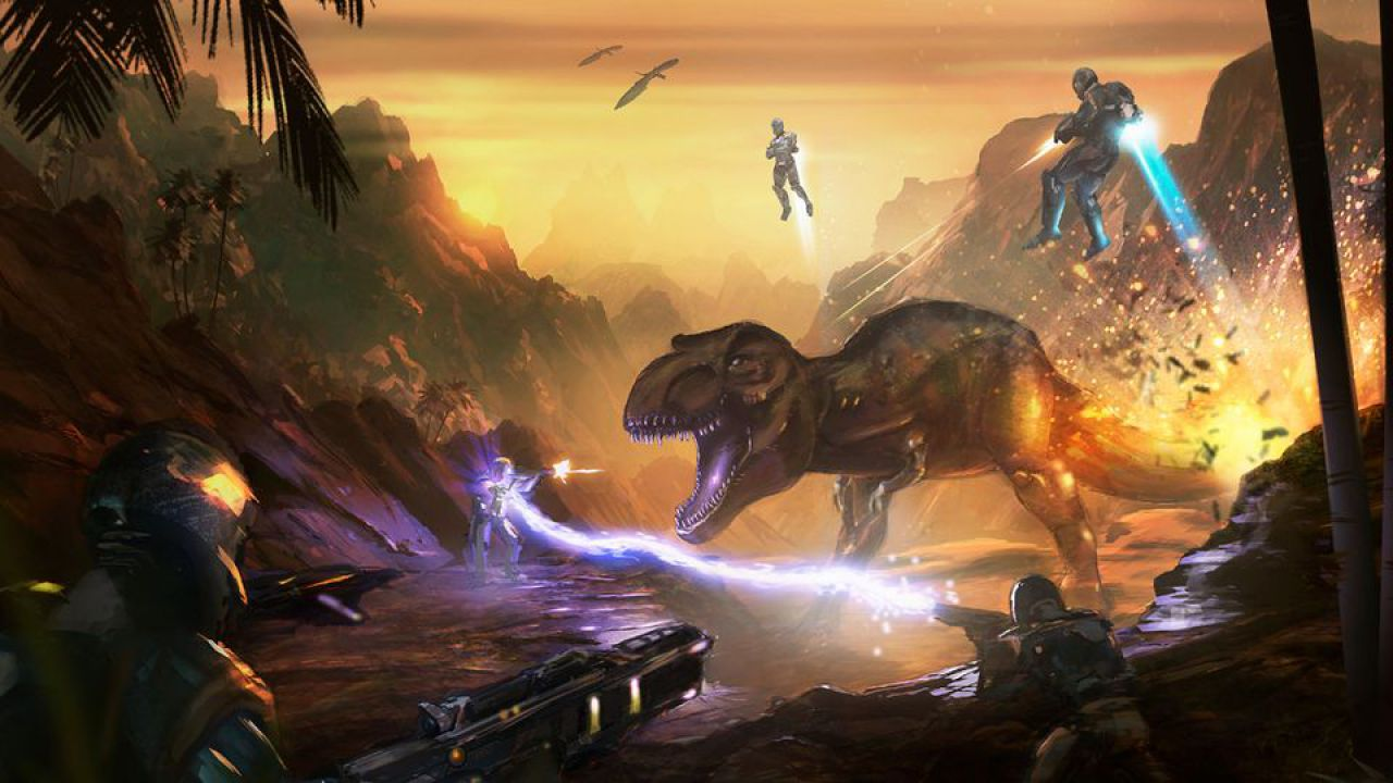 recensione ORION: Dino Beatdown