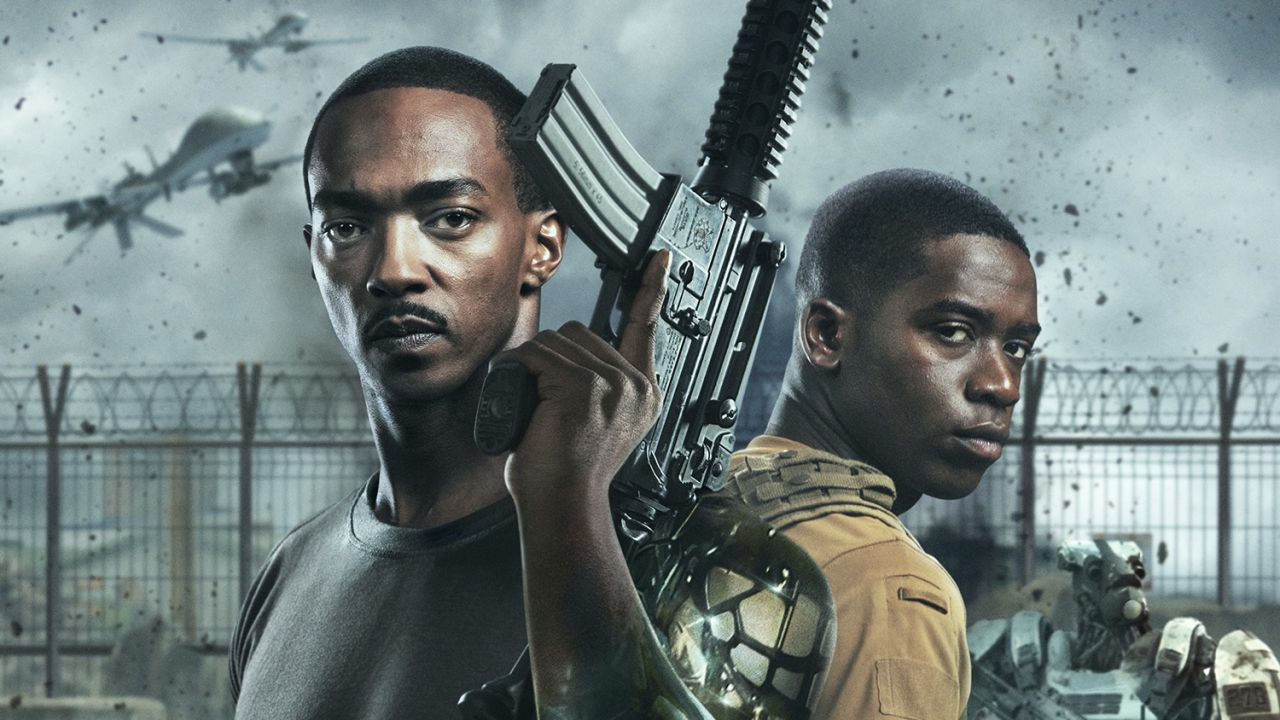recensione Outside The Wire, la recensione del film Netflix con Anthony Mackie