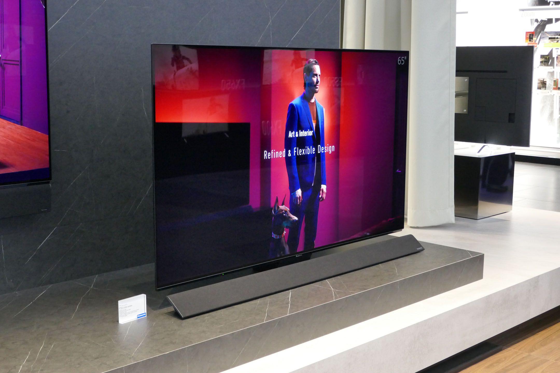 Panasonic FZ950 ed FZ800: primo sguardo ai TV OLED del 2018 e ...