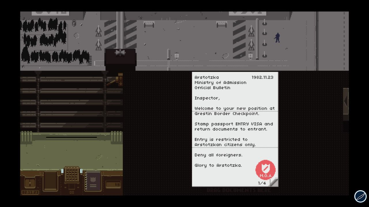recensione Papers, Please