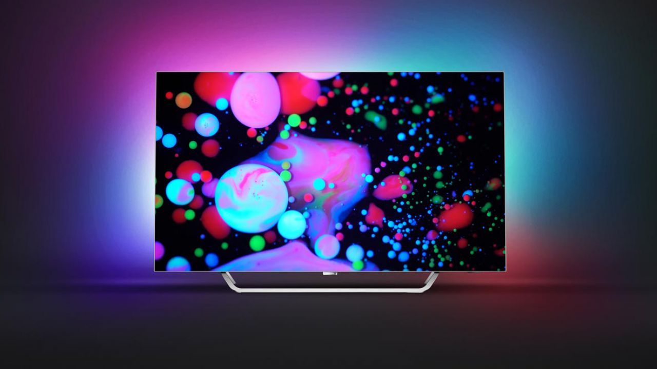 philips pos9002 oled tv con tecnologia ambilight 4k e hdr a meno di 3000. Black Bedroom Furniture Sets. Home Design Ideas