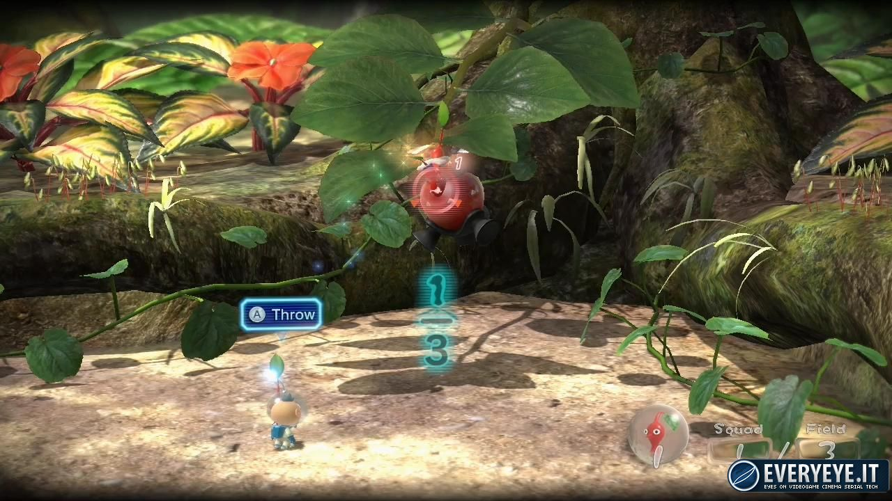 hands on Pikmin 3