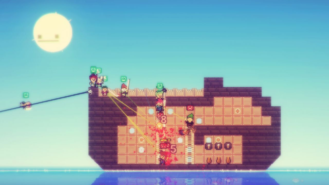 recensione Pixel Piracy