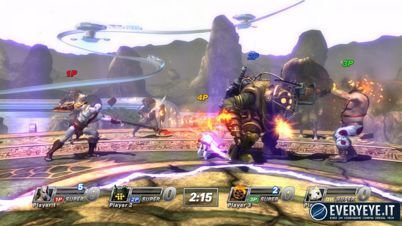 hands on PlayStation All Star Battle Royale