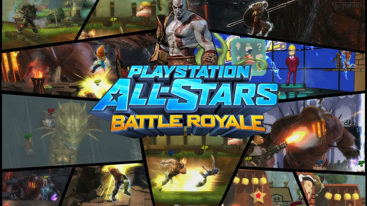hands on PlayStation All Stars