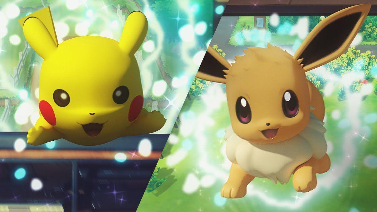 Risultati immagini per pokemon lets go switch