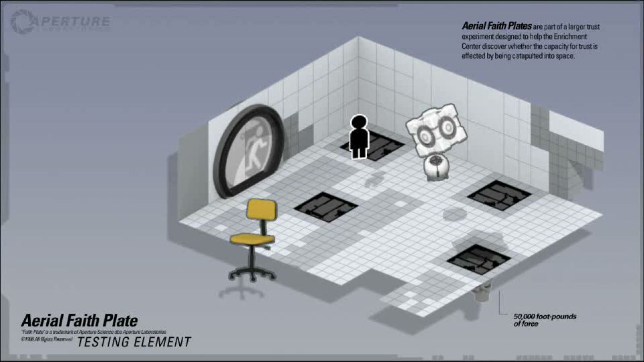 first look Portal 2