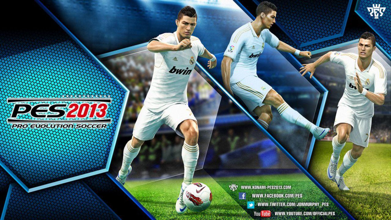 hands on Pro Evolution Soccer 2013