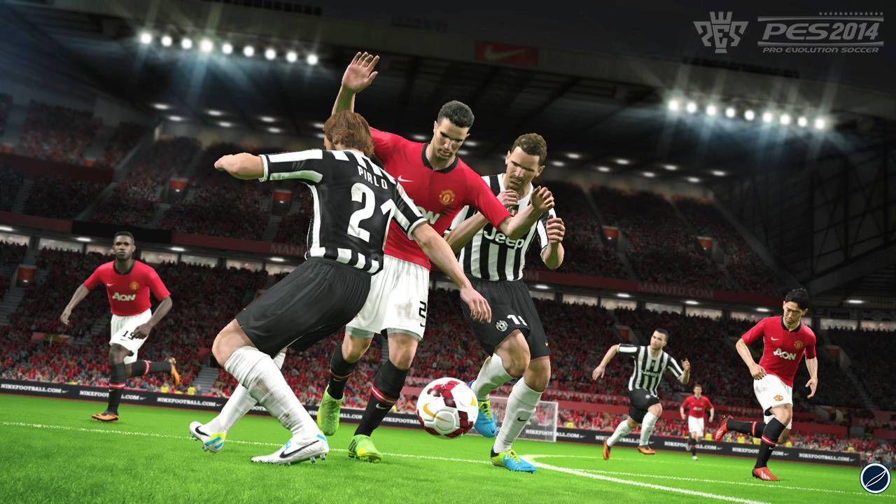 hands on Pro Evolution Soccer 2014