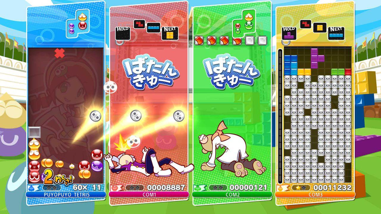 hands on Puyo Puyo Tetris