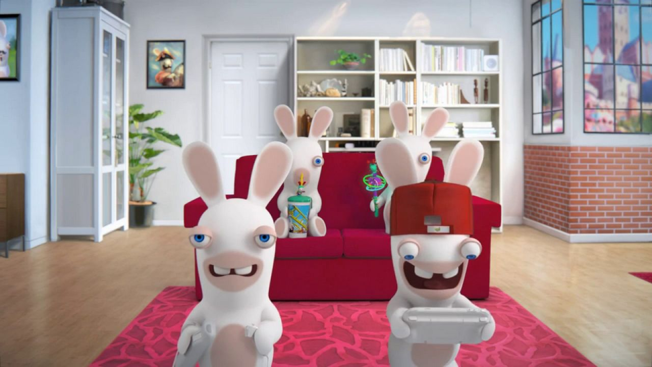 hands on Rabbids Land