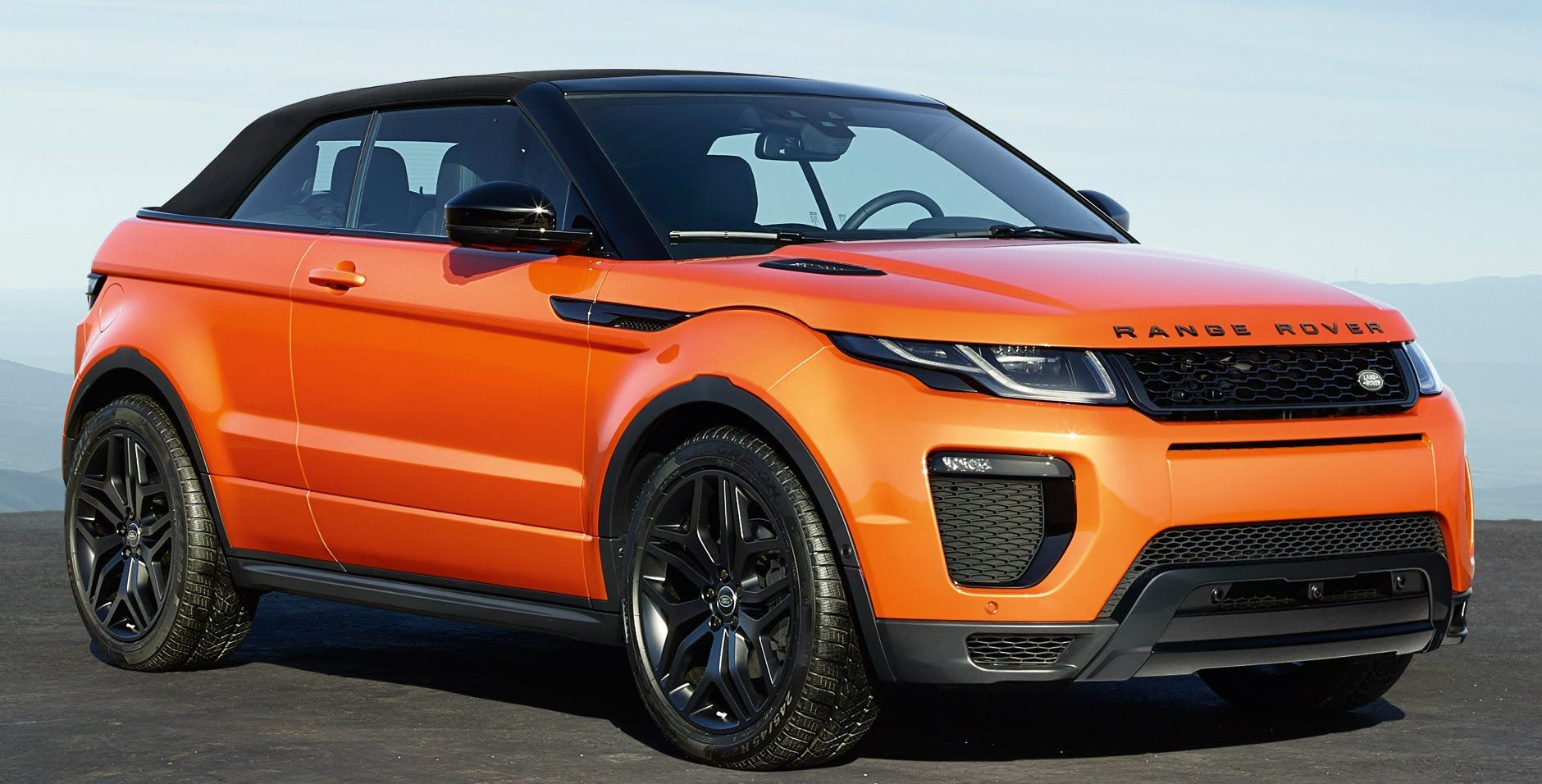 range rover evoque convertible il suv cabrio pronto per l. Black Bedroom Furniture Sets. Home Design Ideas