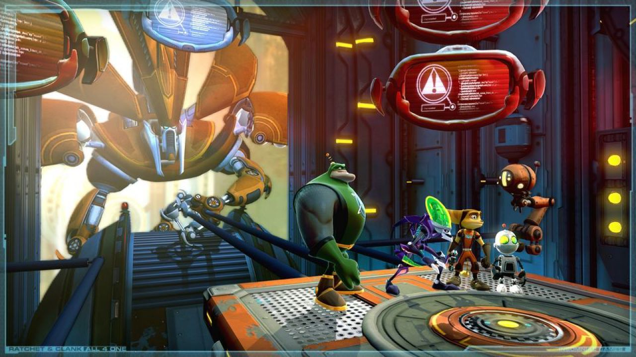 recensione Ratchet & Clank: All 4 One