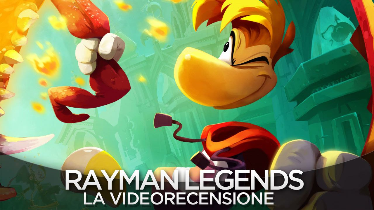 hands on Rayman Legends - Challenges App