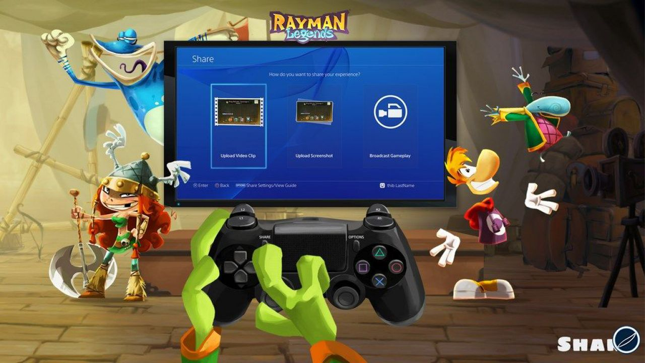 hands on Rayman Legends