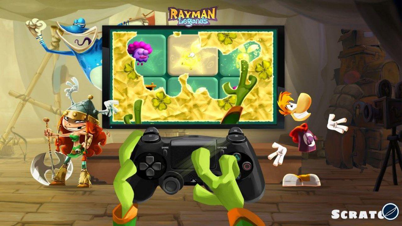 hands on Rayman Legends