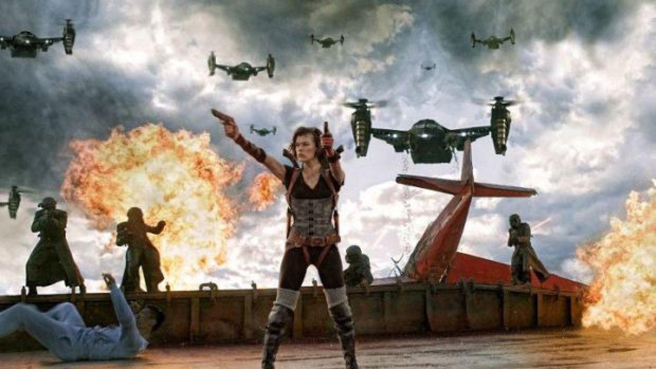 speciale Resident Evil Retribution - Set visit