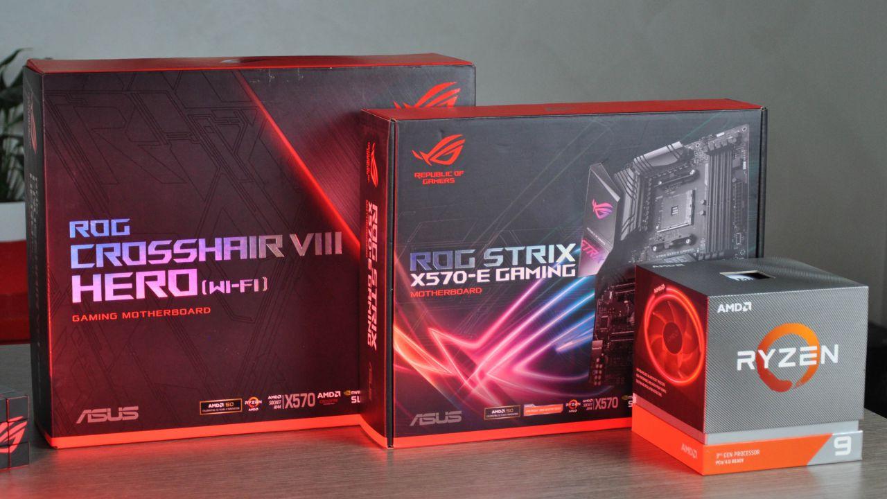 first look ROG Crosshair VIII Hero e Strix X570-E: perfette per i Ryzen 3000