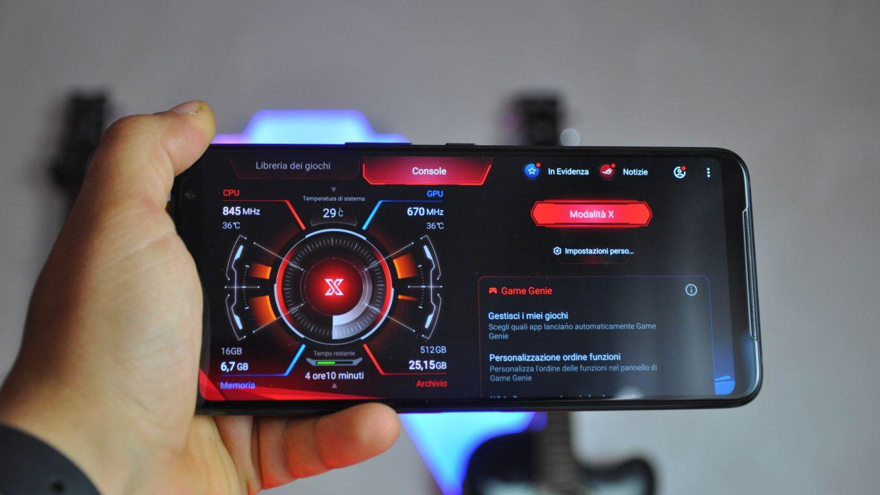 speciale ROG Phone 3: da Armoury Crate all'audio, le ottimizzazioni per il gioco