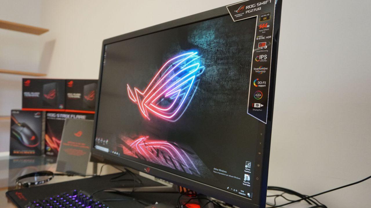 ROG Swift PG27UQ: alla prova il monitor gaming 4K e HDR più avanzato sul mercato