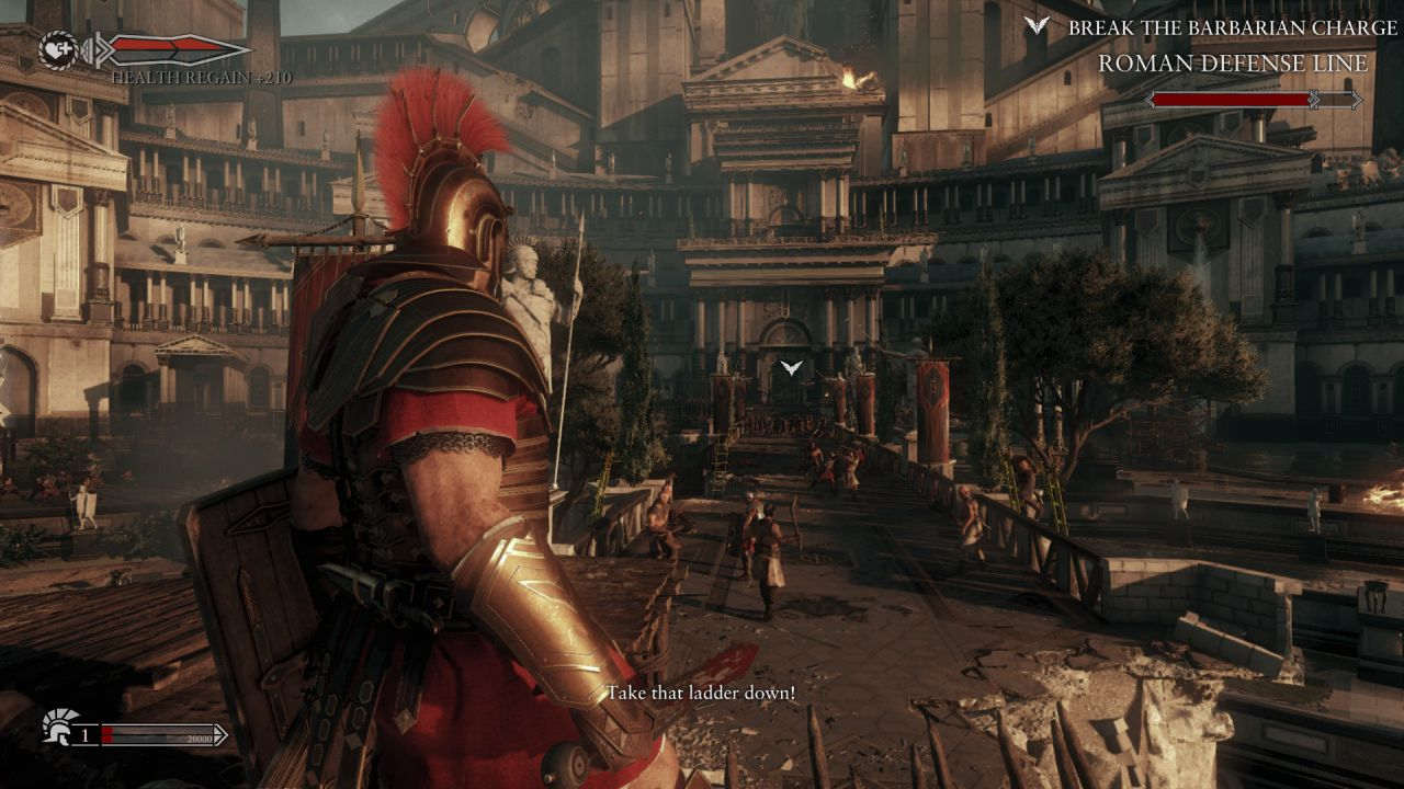 hands on Ryse: Son of Rome