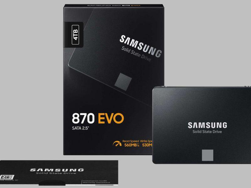 Samsung 870 EVO Recensione: memorie TLC per la massima durata nel tempo