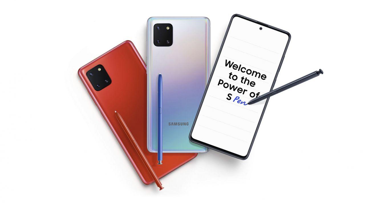 recensione Samsung Galaxy Note 10 Lite Recensione: il medio gamma con pennino