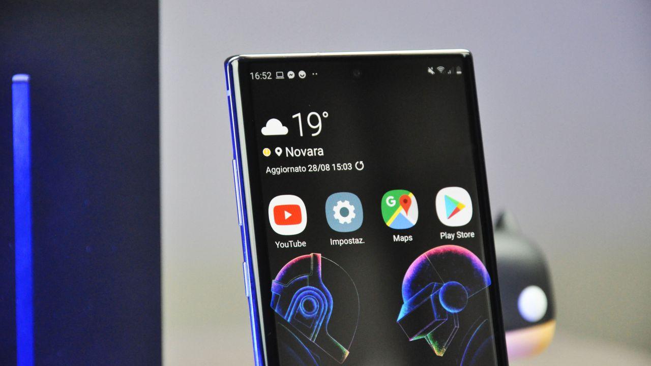 Samsung Galaxy Note 10+ Recensione: un ritorno al passato, o quasi