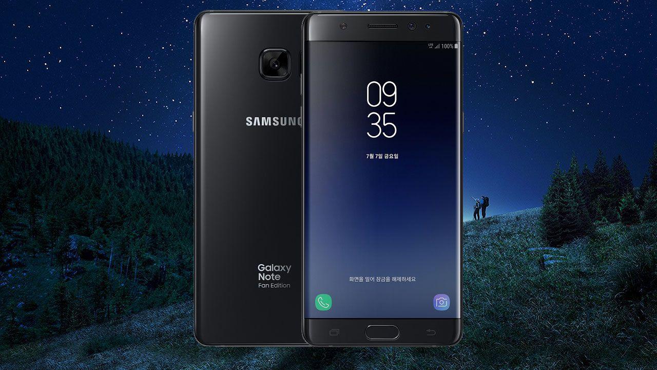 speciale Samsung Galaxy Note 7 FE è ufficiale: ritorna il phablet esplosivo