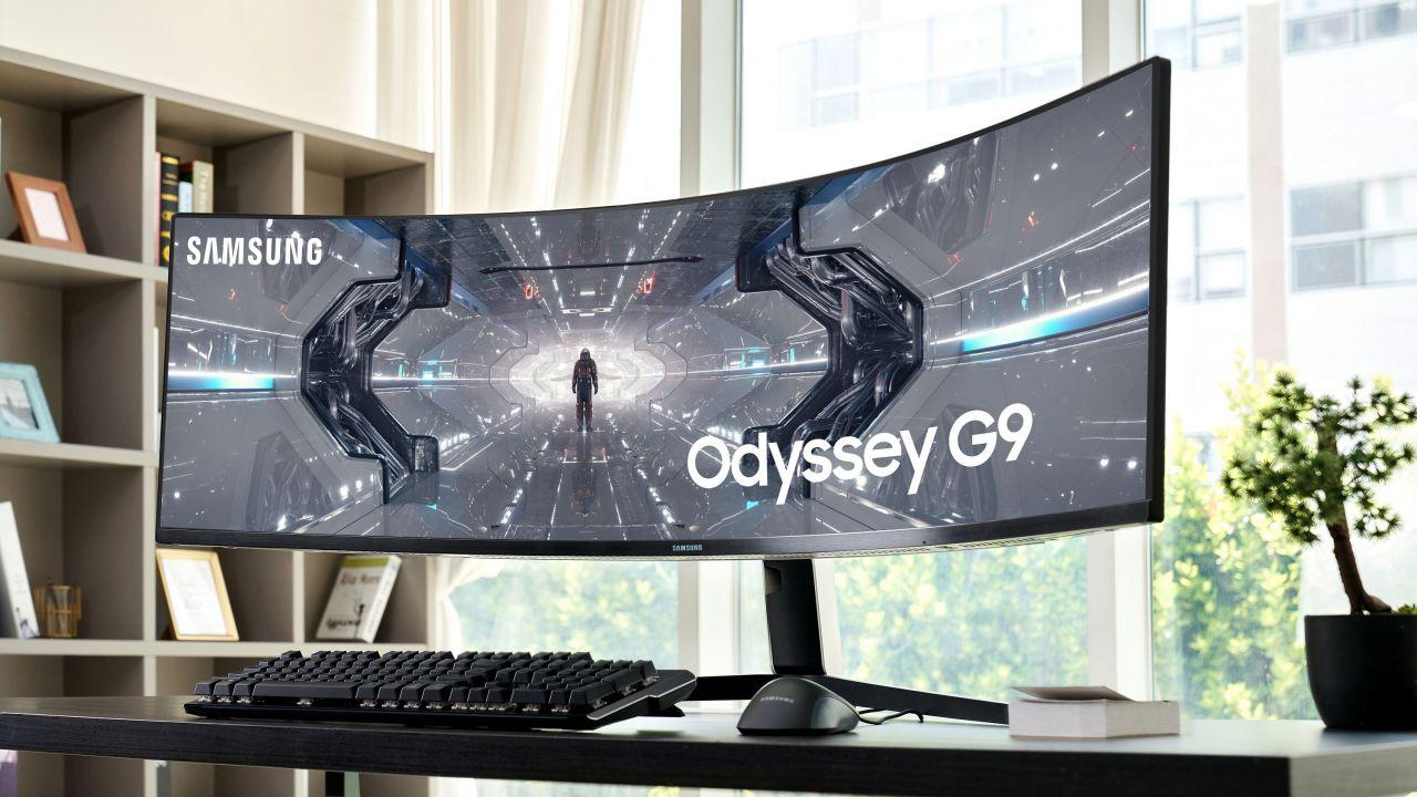 Samsung Odyssey G9: Mini LED e HDR2000 per il più avanzato monitor gaming