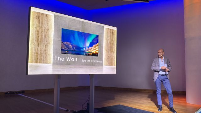 Samsung The Wall: il primo display MicroLED è realtà ed è impressionante