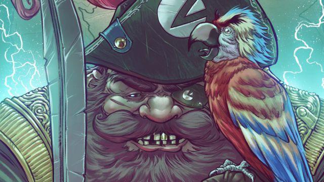 Sea of Thieves: la copertina di Andrea Guardino