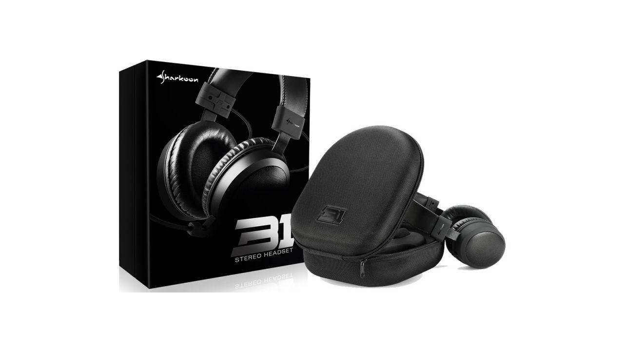 recensione Sharkoon B1: recensione dell'headset stereo dall'ottimo rapporto qualità/prezzo