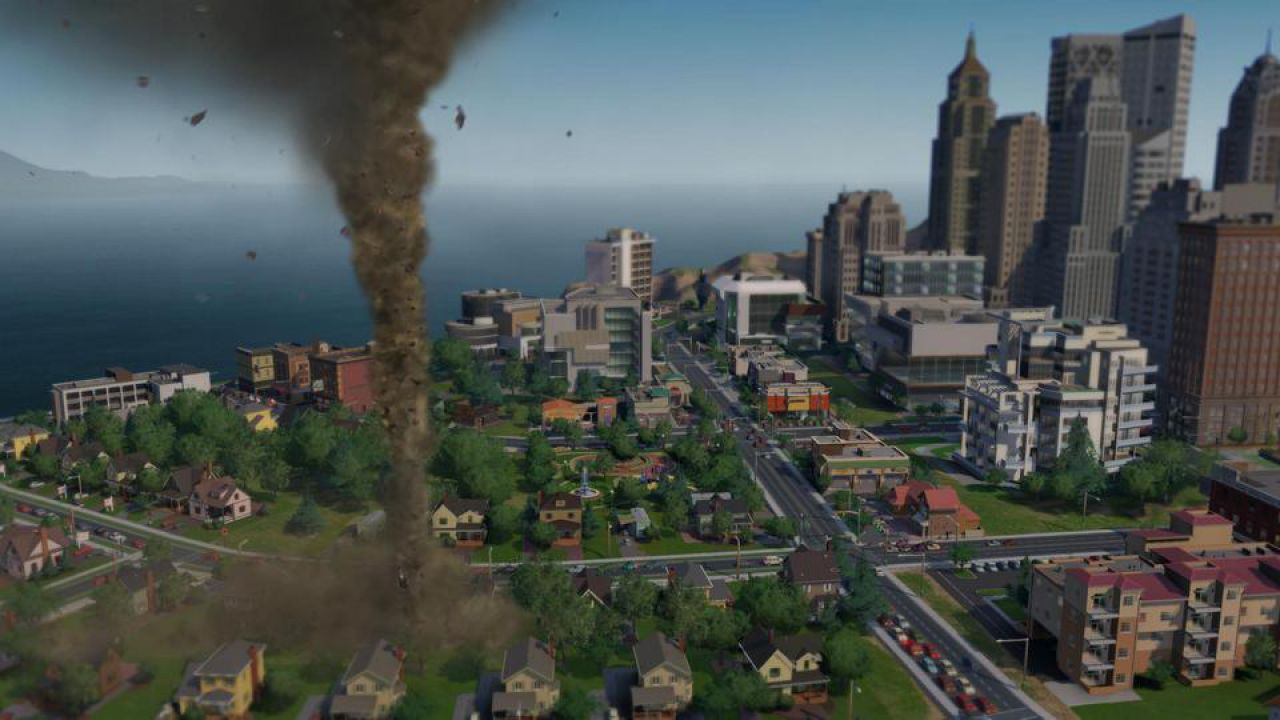 hands on SimCity