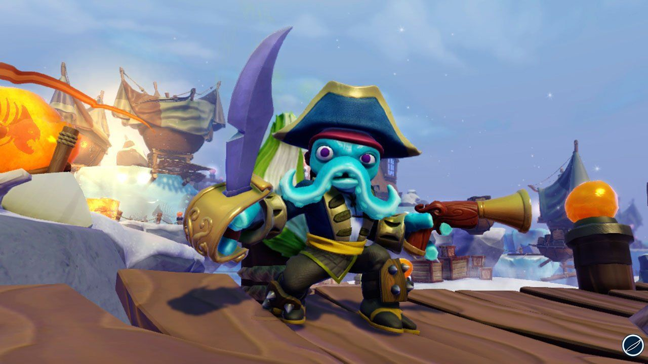 hands on Skylander Swap Force