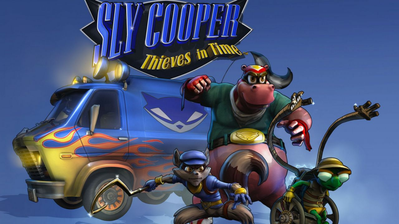hands on Sly Cooper: Thieves in Time