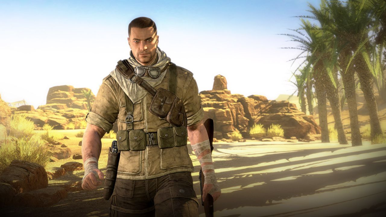 hands on Sniper Elite 3
