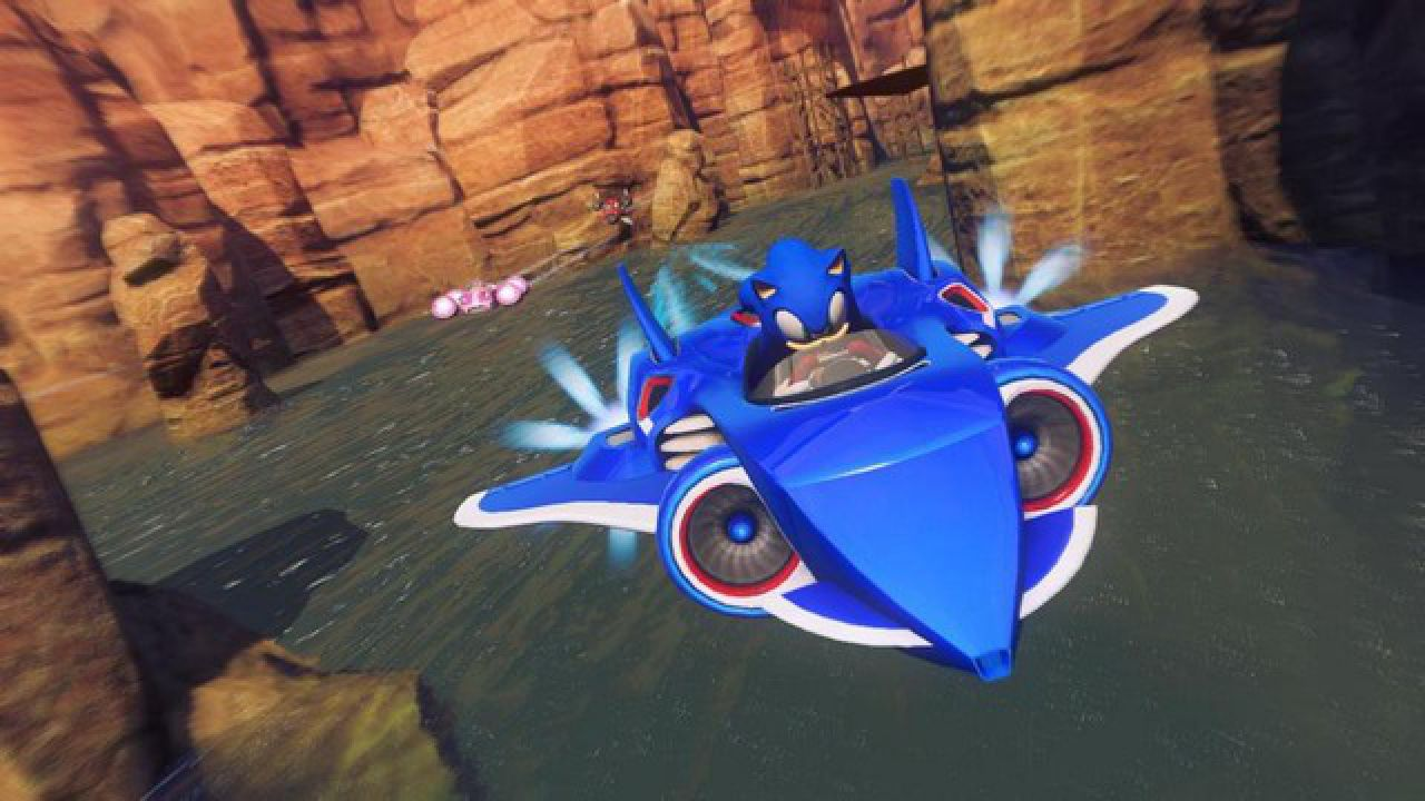 hands on Sonic All-Stars Racing Transformed
