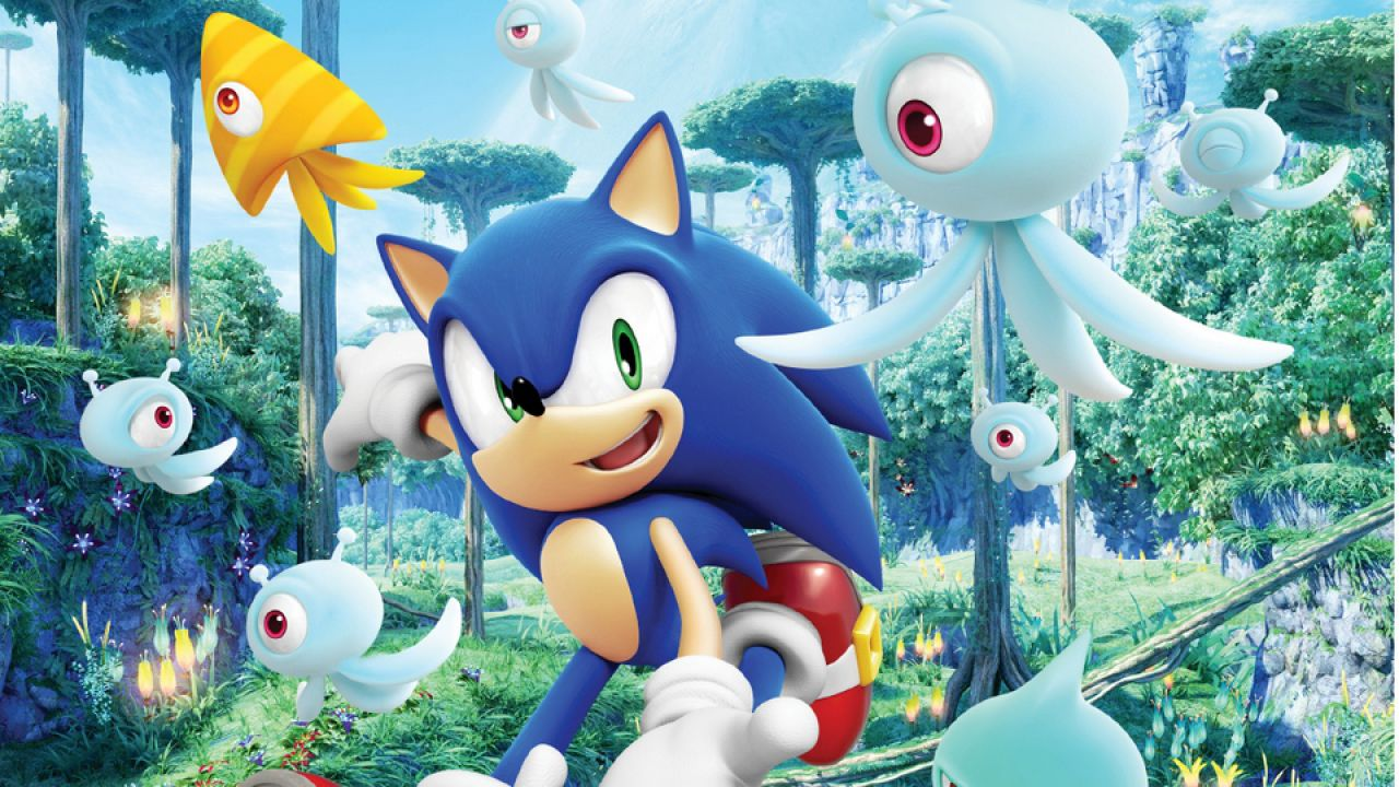 hands on Sonic Colors