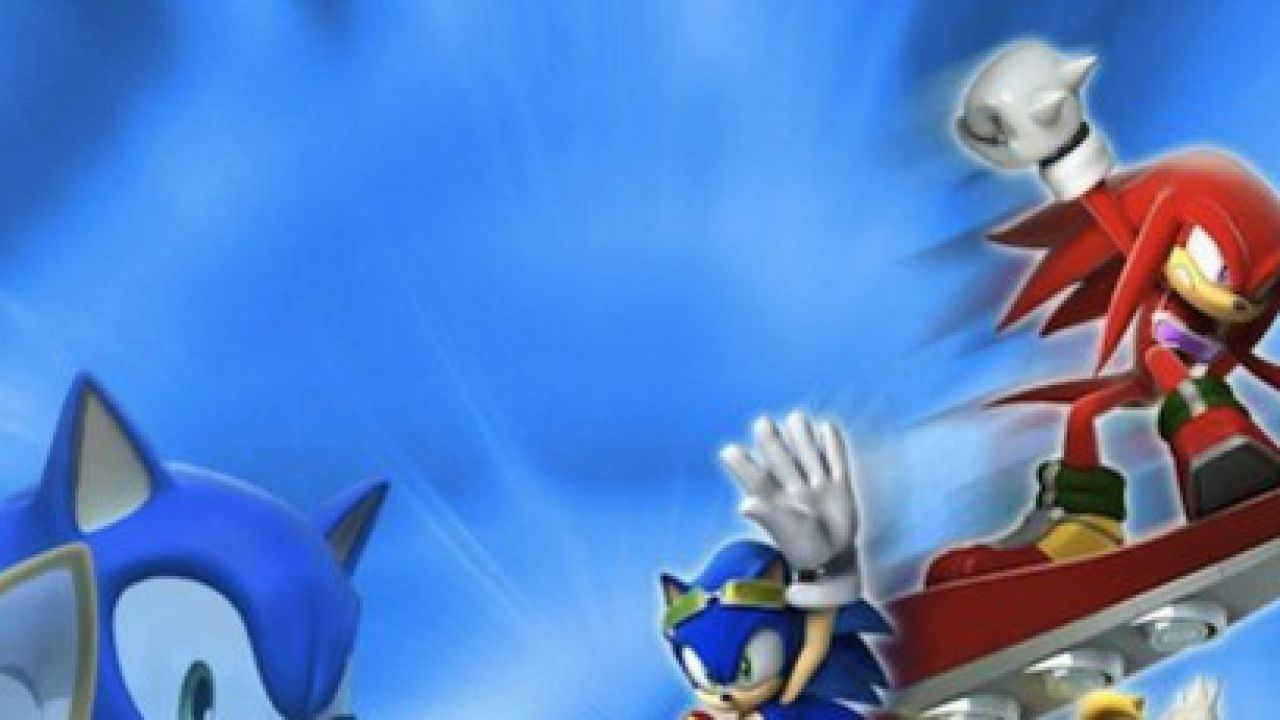 hands on Sonic Free Riders