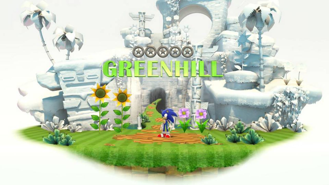 hands on Sonic Generations