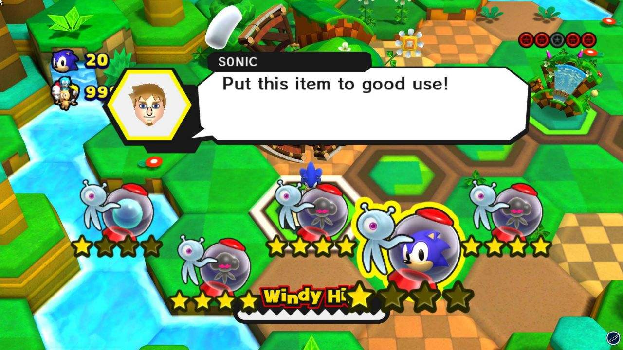 hands on Sonic Lost World